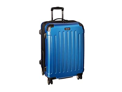 Kenneth Cole Reaction Renegade 24 Expandable 8-Wheel Upright (Vivid Blue) Luggage