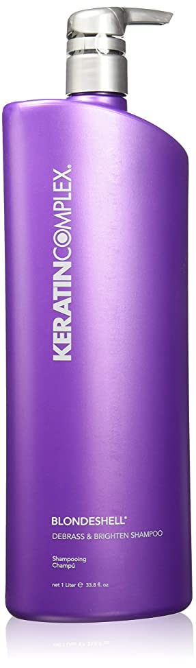 Keratin Complex Blondeshell Debrass & Brighten Shampoo & Conditioner Liter DUO 33.8 oz