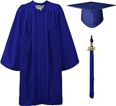 GraduationMall Matte Kindergarten Graduation Gown Cap Set with 2019 Tassel