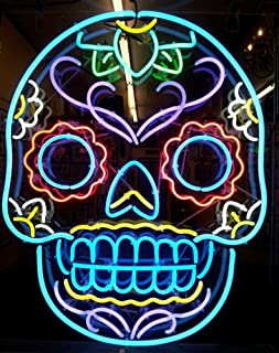iecool Tattoo Skull Neon Sign 20