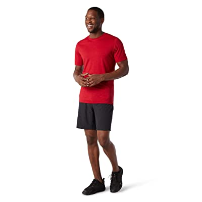 Smartwool Merino Sport 150 Tee (Chili Pepper Heather) Men