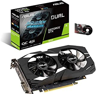 ASUS Dual GeForce GTX 1650 OC edition 4GB GDDR5 is your ticket into PC gaming