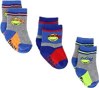 Superhero Boys Girls 3 pack Gripper Athletic Socks (Baby/Toddler)
