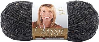 Lion Brand Yarn 860-407 Vanna's Choice Yarn, Graphite