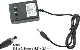 Excelity® DC 18V 650mA 1A 1.5A(Max) Wall Charger Power Supply Switching Adapter 5.5 x 2.5mm / 5.5 x 2.1mm