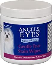 Angel's Eyes Gentle Tear 100 Presoaked Textured Stain Wipes