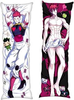 JuJu Home Hisoka Hunter X Hunter Male 34x100cm(13.3in x 39.9in) Peach Skin Body Pillowcases