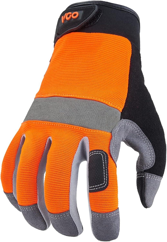 Vgo Safety Work Gloves Our shop OFFers the best service Light Gardening Dut Popular product Builder