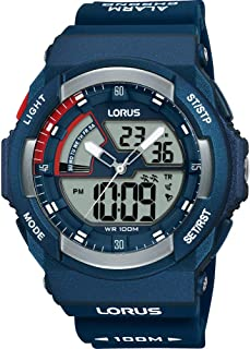 Lorus Sport Watch For Men Analog-Digital Silicone - R2325MX9