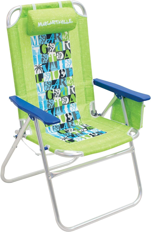 Margaritaville Big Shot Beach Chair  Lime