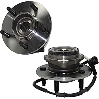 TUPARTS 515029 Wheel Bearing and Hubs Front Compatible with Ford F-150 2000-2003 Ford F-150 Heritage 2004 W//ABS Sensor
