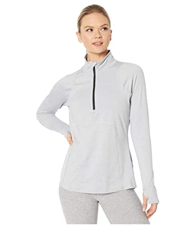 The North Face Essential 1/2 Zip (TNF Light Grey Heather) Women