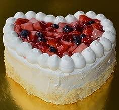 ハートのベリーショートケーキ 直径18cm6号サイズ相当 バレンタインをはずさない一品