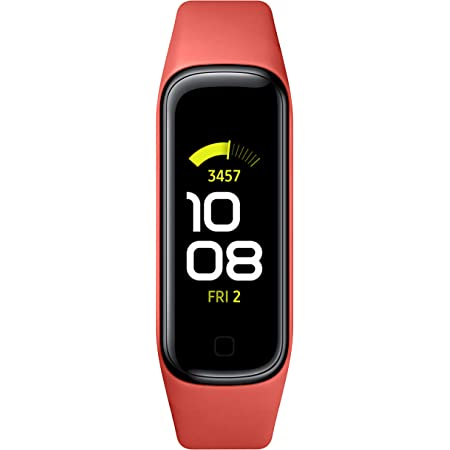 SAMSUNG Galaxy Fit 2 Bluetooth Fitness Tracking Smart Band – Scarlet (US Version)