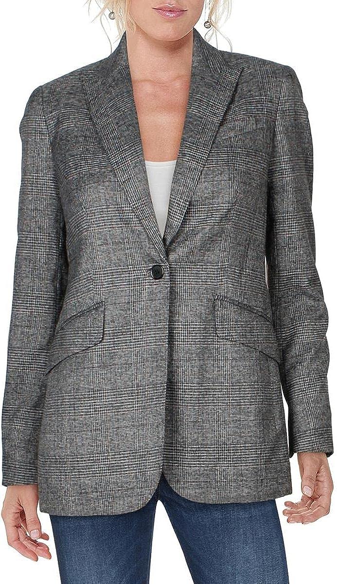 Anne Klein Womens Suit Separate Office Wear One-Button Blazer