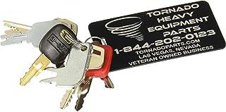 10 Keys Heavy Equipment / Construction Key Set