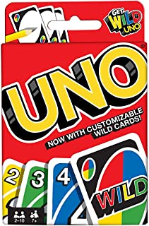 Wild Uno Card Game - 7 Years & Above