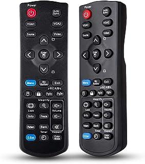 EWO'S Projector Remote Control for ViewSonic PJD7820HD PJD7822HDL PJD5132 PJD5134 PJD5232L PJD5234L PJD5533W PJD6235 PJD62...