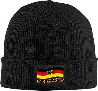 Knit Beanie Cap Hat Germany Waving Flag Deutschland Pride Trendy Soft Adult