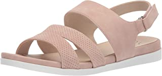 LifeStride Women's Ashley 2 Flat Sandal, Blush, 9.5 M US