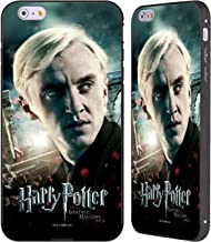 Official Harry Potter Draco Malfoy Deathly Hallows VIII Black Aluminum Bumper Slider Case Compatible for iPhone 6 Plus/iPhone 6s Plus