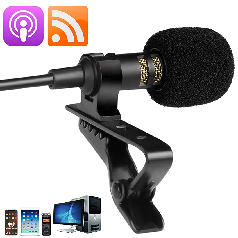 Exclusive Omnidirectional Podcast Microphone - Great Lavalier Podcast Mic - Best Rode Podcaster Microphone for Recording/YouTube/Vlogging/Interview/Podcasting/Streaming