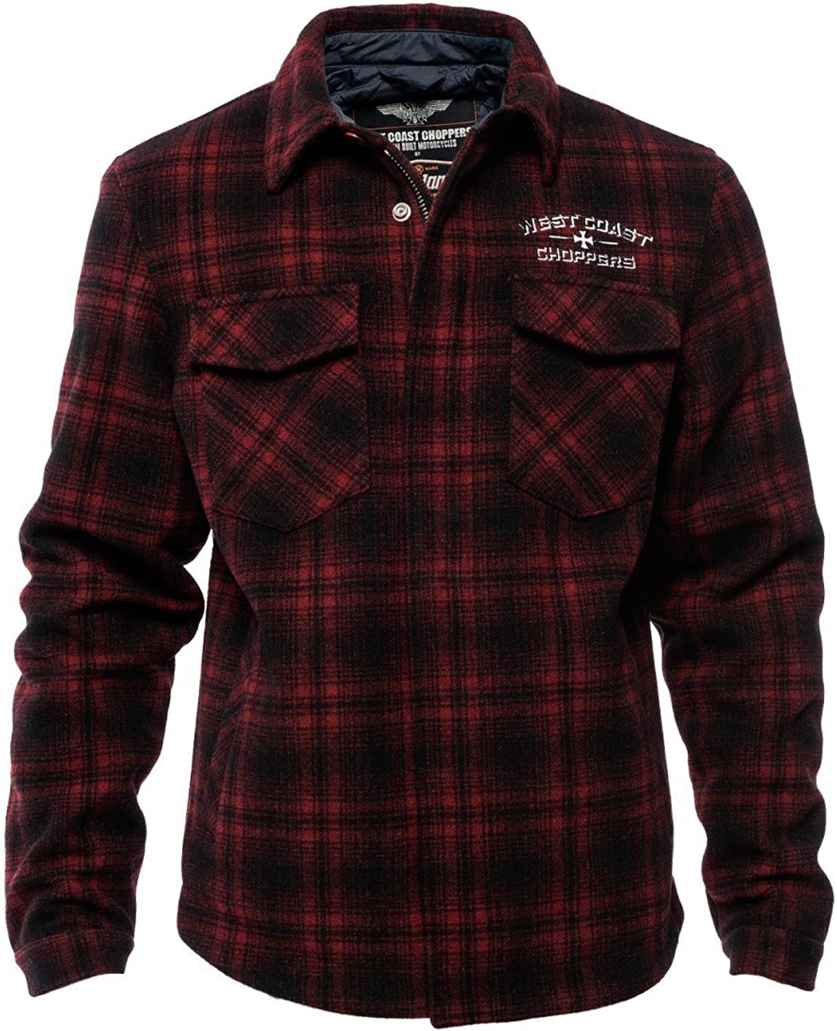 West Coast Choppers Jacke Quilted Gang Jacket B00PAB1PP8  Ästhetisches Aussehen