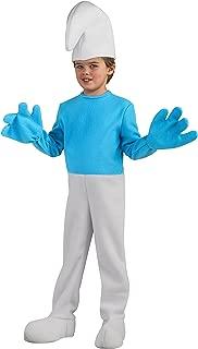 Rubie's Costume Smurfs: The Lost Village Child's Deluxe Smurf Costume, Multicolor, Medium