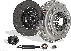 Clutch Kit Works with Chevrolet Blazer S10 C1500 P30 GMC Jimmy Savana Sonoma 1500 K1500 Ls Xtreme Envoy Diamond Base Sle Sl 1996-2003 4.3L V6 GAS OHV Naturally Aspirated