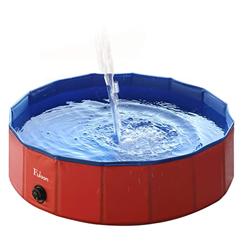 Fuloon - Piscina/bañera plegable para mascotas - Para lavar perros y gatos