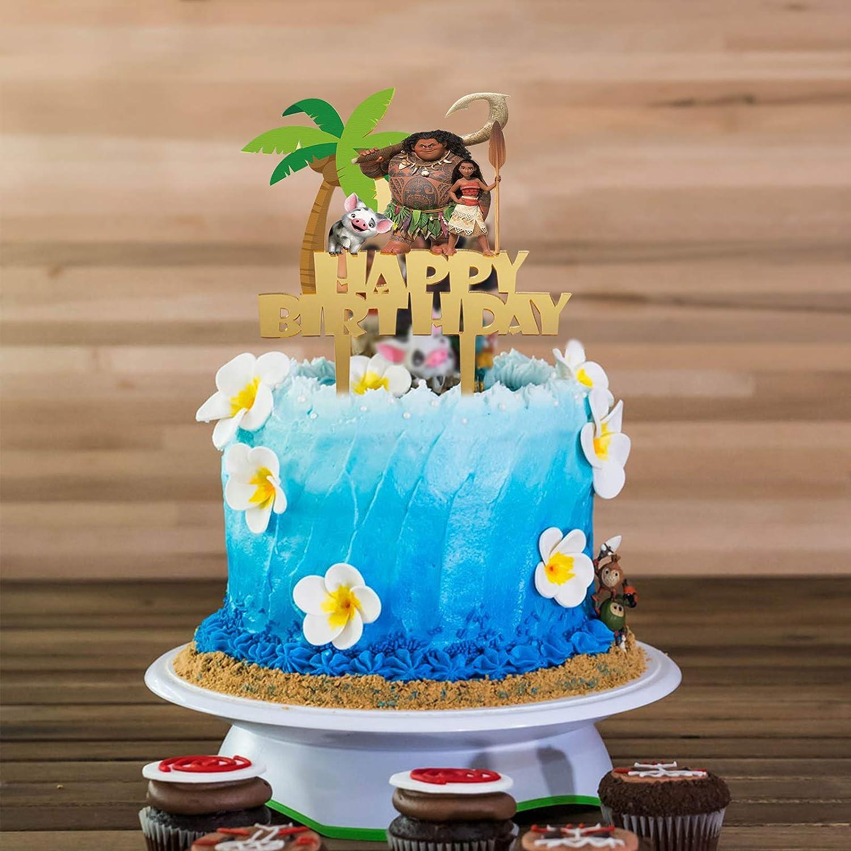 Princess Party Favor LYNHEVA Gold Acrylic Sleeping Beauty Happy Birthday Cake Topper Princess Aurora Theme Birthday Party Suppliers Disney Princess Aurora Cake Decor