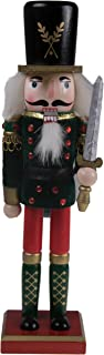"""Clever Creations Traditional Soldier Nutcracker Collectible Wooden Christmas Nutcracker 