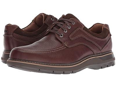 Clarks Un Ramble Lace (Mahogany Leather) Men