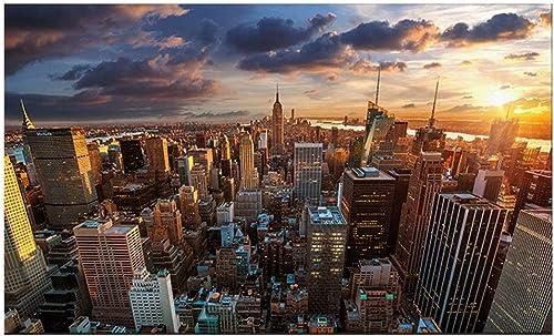 preferente KISlink Cityscape Wall Art Painting, Serie Serie Serie de Nueva York de Manhattan, Estampados en Lienzo, Fotos para decoración Moderna para el hogar, decoración para artículos (tamaño  80 x 120 cm)  Sin impuestos