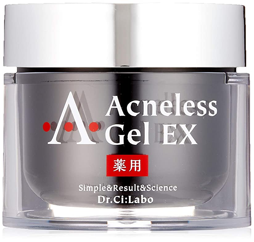 靄系譜ひそかに薬用アクネレスゲルEX80g