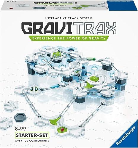 Ravensburger - Gravitrax - Starter Set - 27597 - Jeu de construction STEM - Circuits de billes créatifs - 122 pièces ...