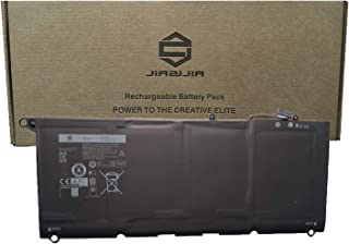 JIAZIJIA 90V7W Laptop Battery Replacement for Dell XPS 13 9350 XPS 13 9343 Series Notebook JD25G 0DRRP 0N7T6 5K9CP DIN02 JHXPY Black 7.6V 56Wh 6170mAh