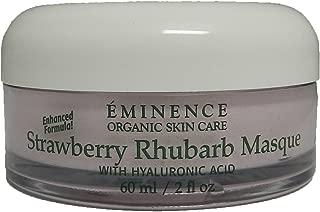eminence strawberry rhubarb hyaluronic mask