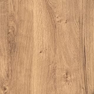 Rohr-Trading.SURFACES Klebefolie für Möbel Küche Tür & Deko I Selbstklebende Folie inkl. Filzrakel zur Verarbeitung I 3D Fototapete in rustikaler Eiche Holzoptik 210 x 90cm I Exaktes Türmaß