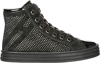 .Hogan Sneakers Alte r141 Bambino Nero