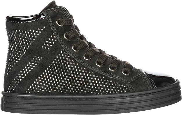 HOGAN REBEL Baby R141 high top Sneakers Nero