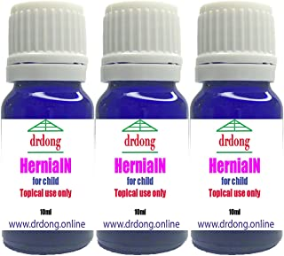 HerniaIN 3 pack-NO SURGERY, NO BELT, NO TABLET, Essential oil blend, Easy to apply, Tested for 50+ years, Natural remedy for hernias of child under 12, Try it for 1-2 weeks before seeing a doctor