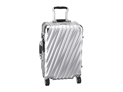 Tumi 19 Degree Aluminum International Carry-On (Silver) Carry on Luggage