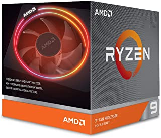 AMD Ryzen 9 3900X with Wraith Prism cooler 3.8GHz 12コア / 24スレッド 70MB 105W【国内正規代理店品】 100-100000023BOX