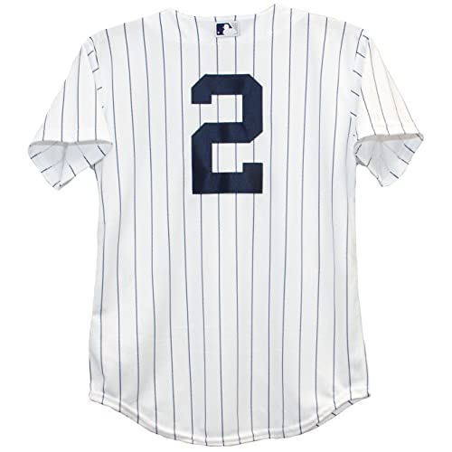 timeless design c4504 19bc7 Jeter Jersey: Amazon.com