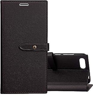 جراب جلدي بنمط الأعمال الأنيق لهاتف ASUS Zenfone 4 Max Pro ZC554KL مع حامل وفتحات بطاقة ومحفظة اكسسوارات الهاتف المحمول