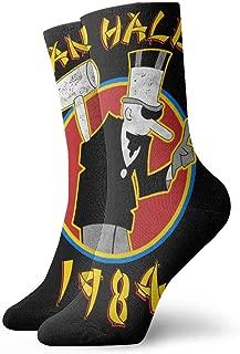 Deborah E Freeman Van Halen Socks Unisex Novelty Crew Sock Low Sock