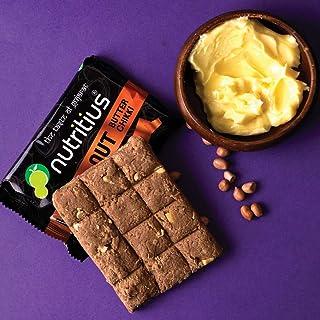 Nutritius Hazelnut Butter Chikki, 125 Grams (Pack of 3) - Starter Pack
