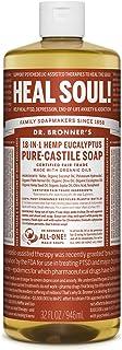Dr. Bronner's - Pure-Castile Liquid Soap (Eucalyptus, 32 ounce) - Made with Organic Oils, 18-in-1 Uses: Face, Body, Hair, ...