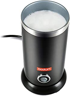 Bodum Bistro Electric Milk Frother, 10 Ounce, Black